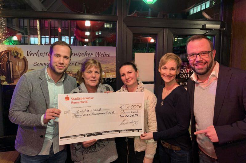 Lerose-Stiftung spendet 1000Euro für MKGM und DGNT
