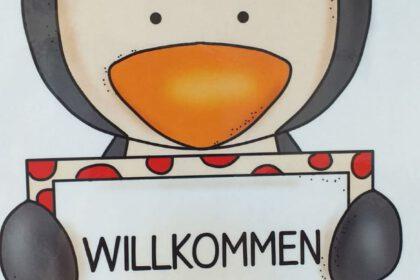 Wir sind die Pinguinklasse/3a! Hier ist jeder willkommen!